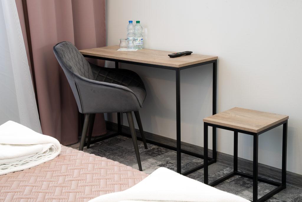 nowoczesny pokój comfort hotel Baron Ciechanów