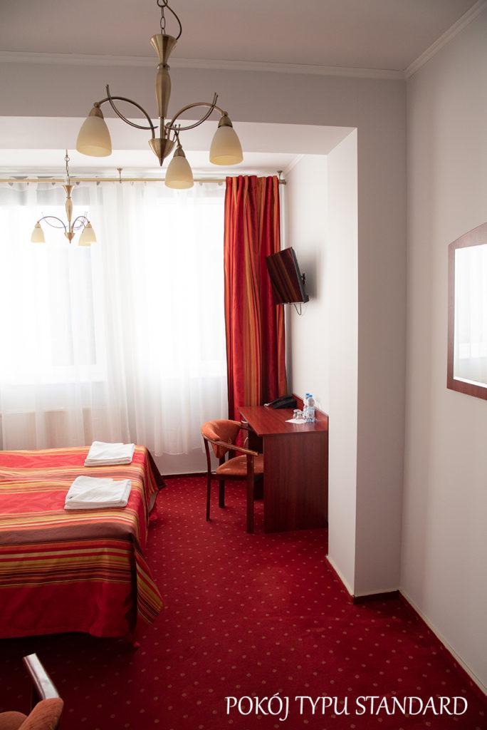hotel baron pokój standard Ciechanów