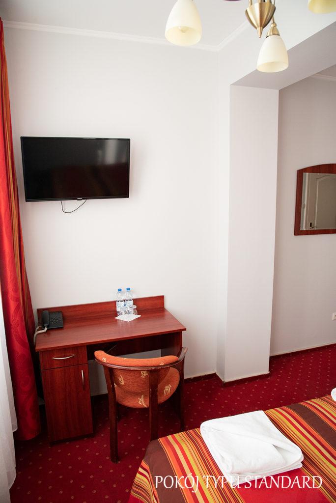 hotel Baron Ciechanów pokój standard