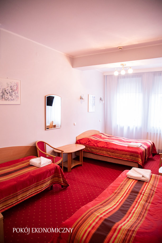 pokój hotel baron w Ciechanowie