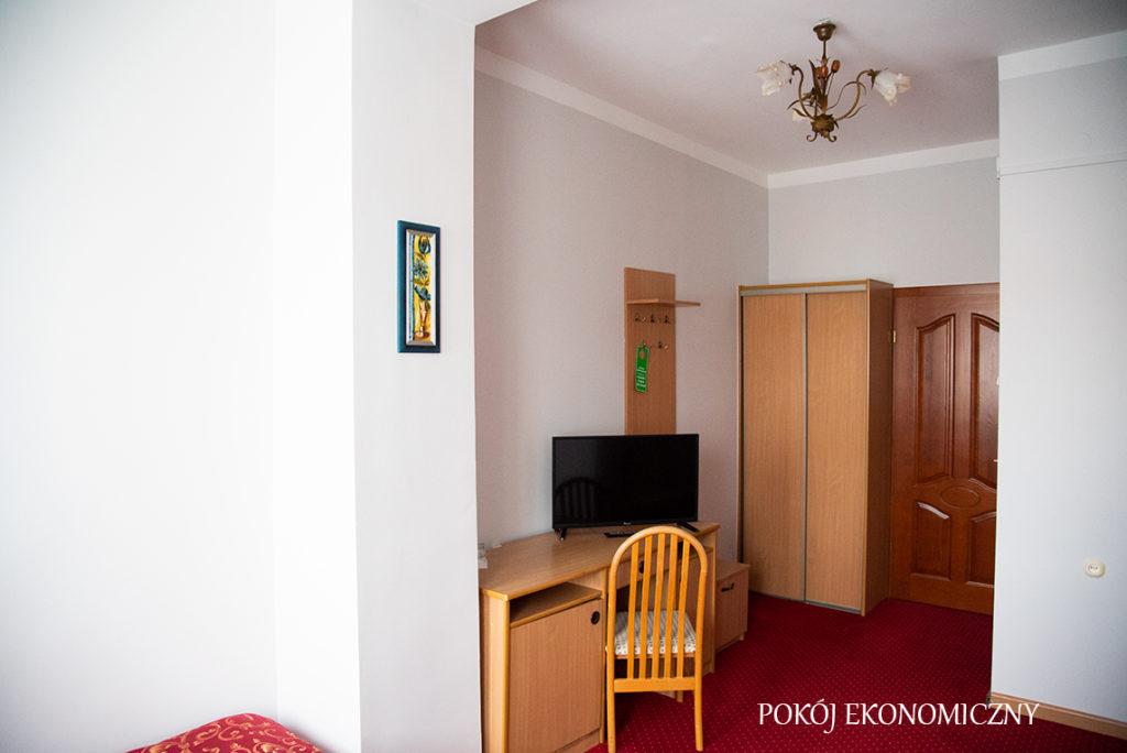 pokoje ekonomiczne w hotelu Baron Ciechanów